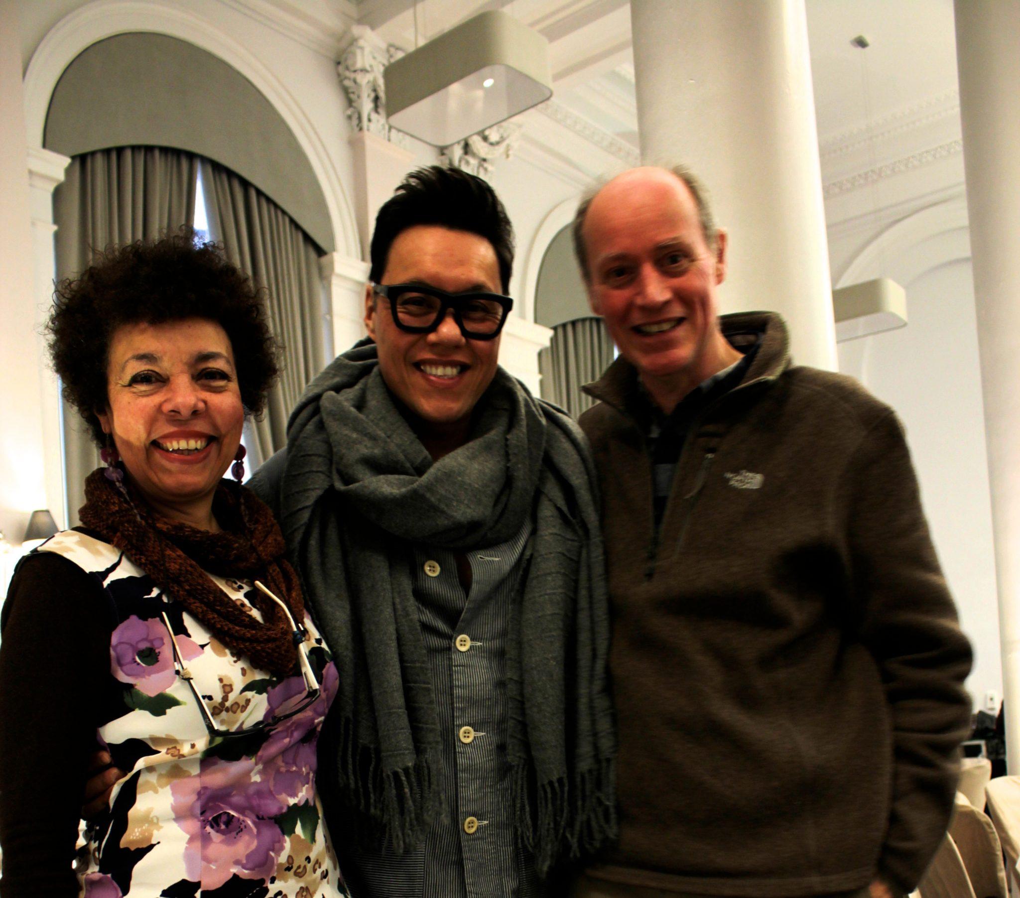 Helen, Gok Wan & Bill