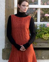 Tangerine Sally Dress