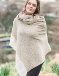 Oat Donegal Cape & Snood