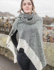 Silver Donegal Cape & Snood