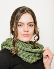 Moss Donegal Snood