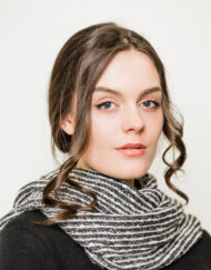Silver Donegal Snood