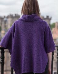Reverse View Violet Argyle