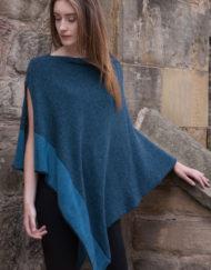 Jewel Cashmere & Silk Cape