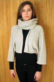 Natural Islay Jacket & Snood Set