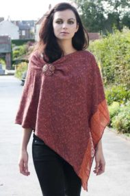 Tangerine Cape - Rear