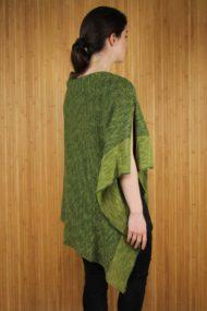 Clover Donegal Merino Wool & Linen Cape