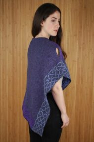 Grape Wallace Shawl