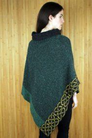 Pine Mull Merino Wool Cape