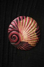 Sienna Shell Brooch