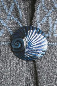 Sleet Shell Brooch
