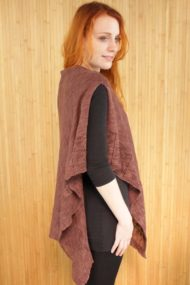Dunlewy Brown Poncho