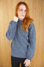 Finn Blue Crew Neck Sweater