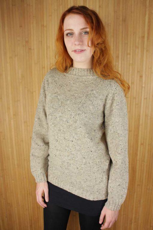 Oat Merino Wool Pullover