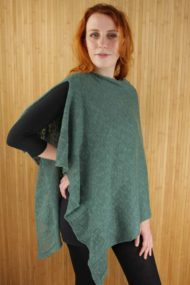 Trillick Green Poncho