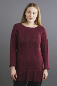 Burgundy Oban Top