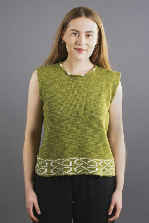Clover Linen Shell