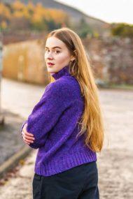 Dariana Purple Marcia Pullover