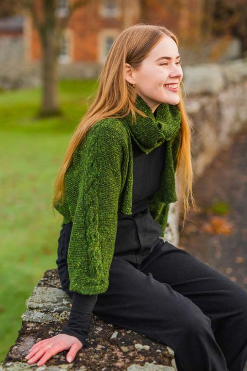 Grainey Green Islay Jacket & Snood