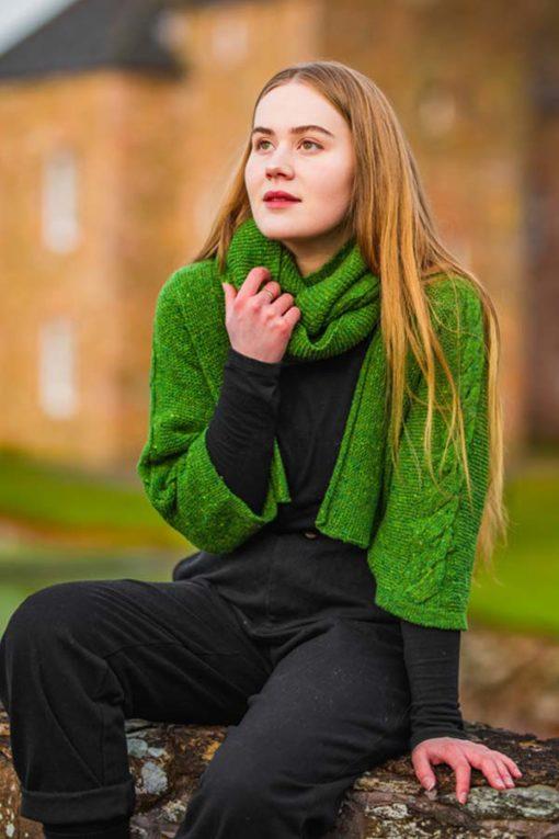 Killala Green Islay Jacket & Snood
