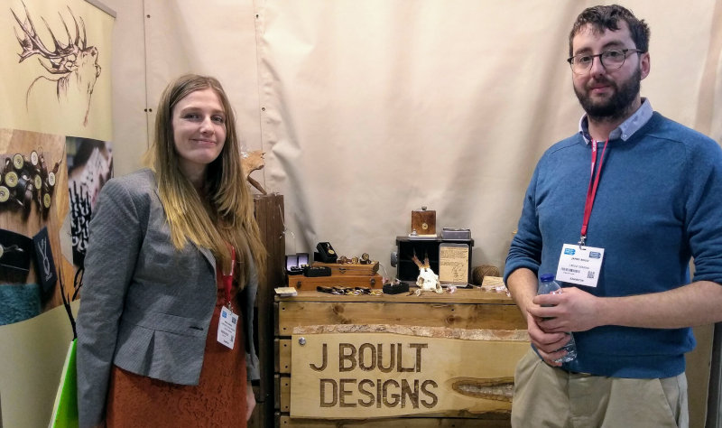 India & Jamie from J Boult Designs