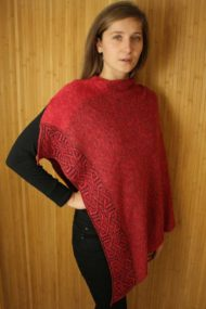 Bordeaux Ballater Shawl
