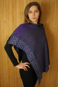 Grape Ballater Shawl