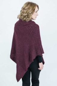 Burgundy Jura Shawl
