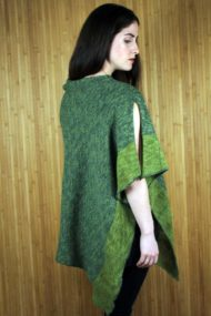 Clover Green Poncho