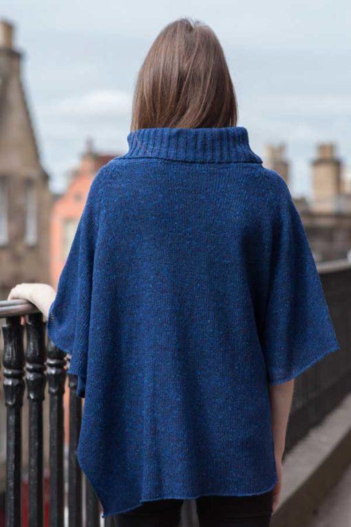 Dark Blue Argyll - rear