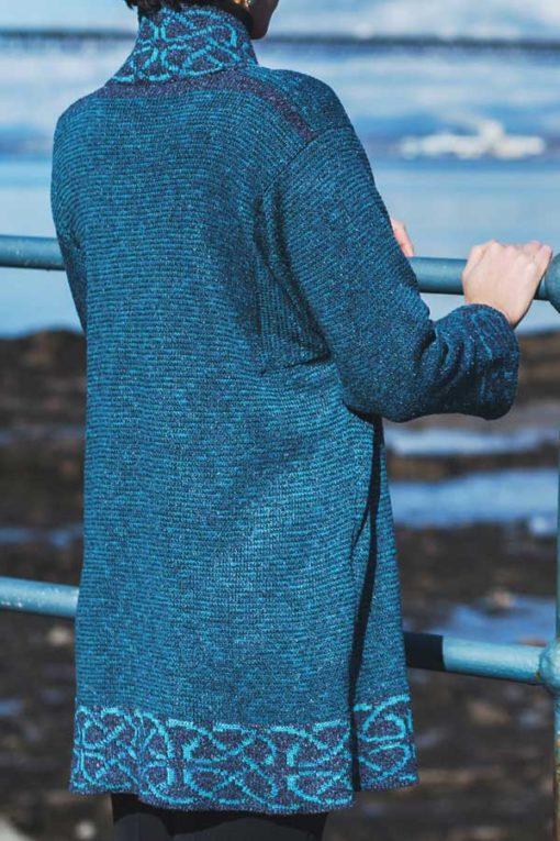 Dark Turquoise Long Mull Jacket