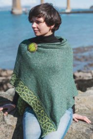 Evergreen Wallace Poncho