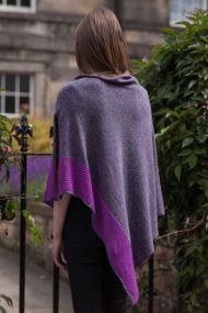 Heather Silk & Cashmere Cape