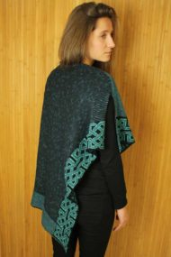 Jewel Ballater Shawl - rear