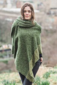 Clover Donegal Cape & Snood Set