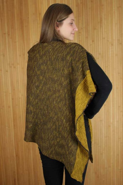 Mustard Donegal Cape