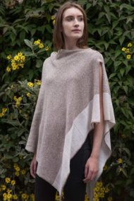 Cashmere & Silk Cape