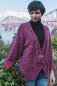 Raspberry Brora Jacket