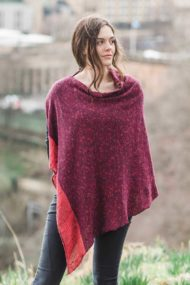 Raspberry Donegal Cape