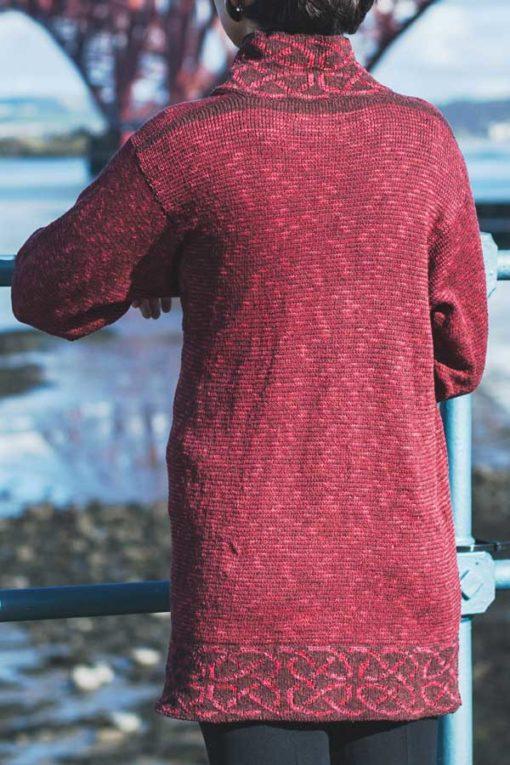 Raspberry Long Mull Jacket