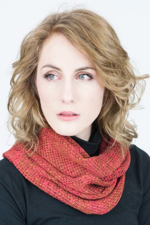 Rust Red Orkney Snood