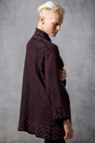 Scarlet Long Mull Jacket
