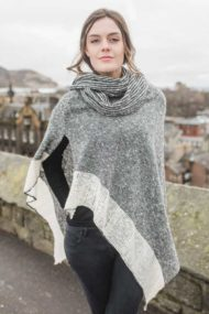 Silver Donegal Cape & Snood Set