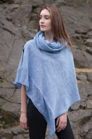 Skerries Linen Cape & Snood Set