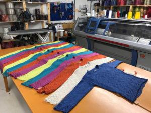 Pico colours at the studio