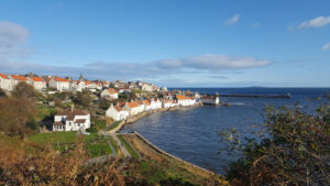 Pittenweem in Fife in the sunshine