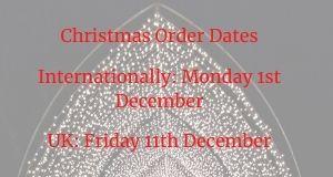 Christmas Posting Dates 2020