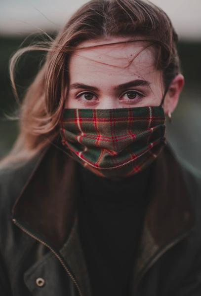 Flodden Tartan Facemask